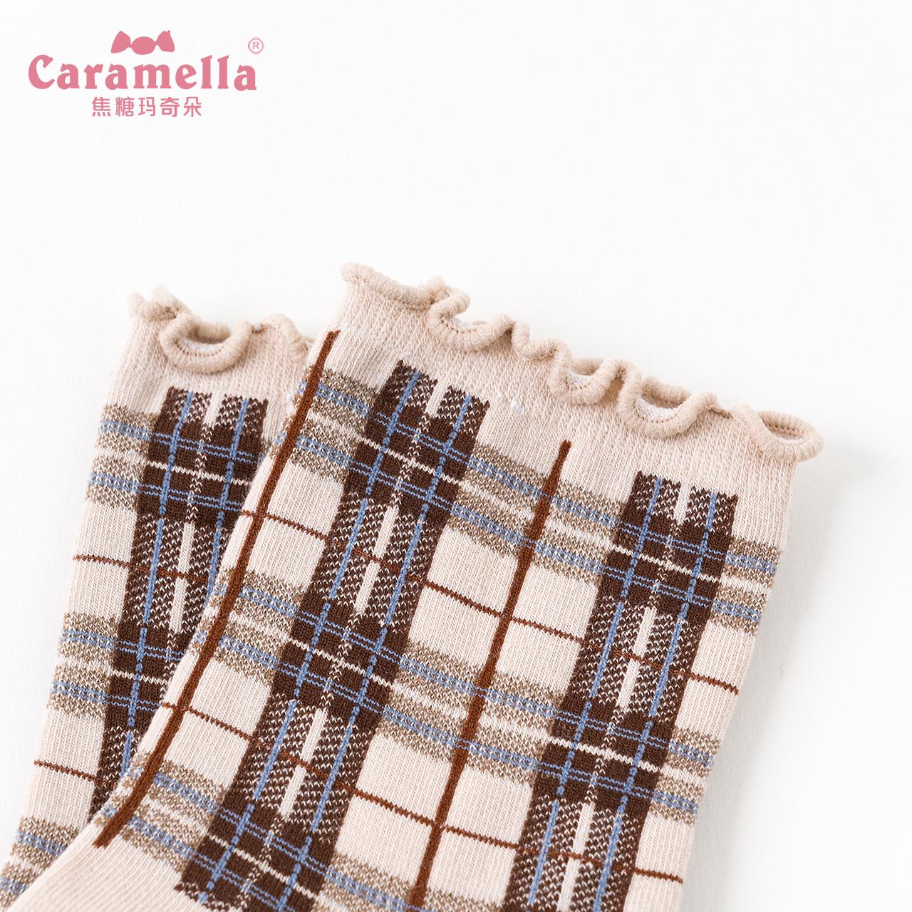 CARAMELLA中筒袜