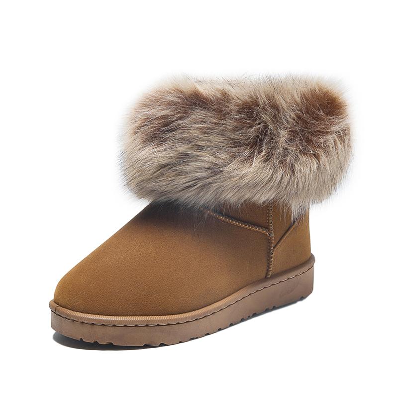 AOLODOD◆时尚短筒雪地靴
