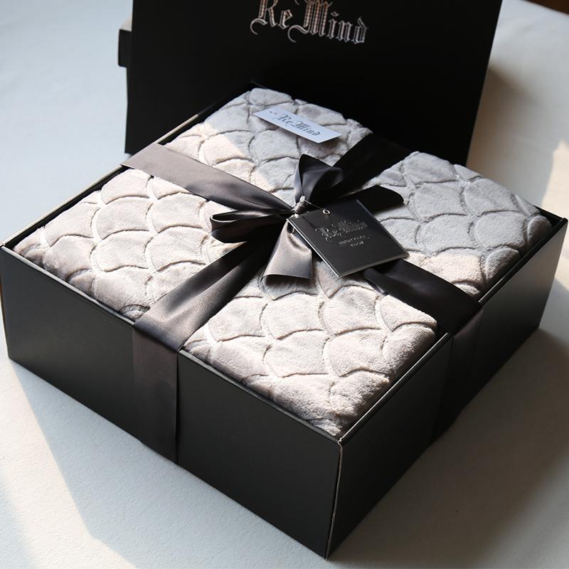 高端礼品毛毯礼盒
