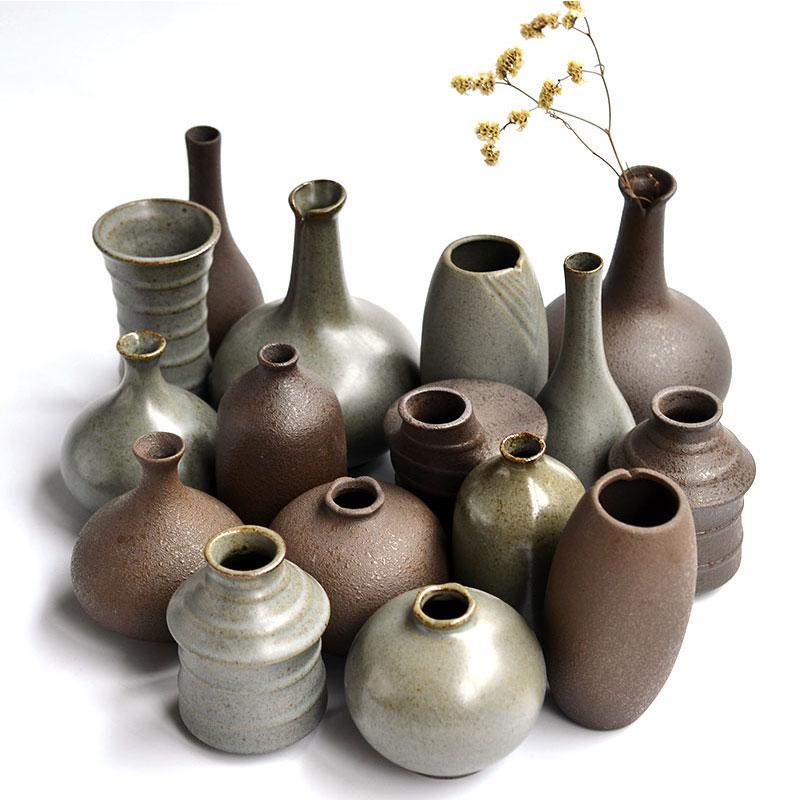 日式迷你陶瓷花瓶