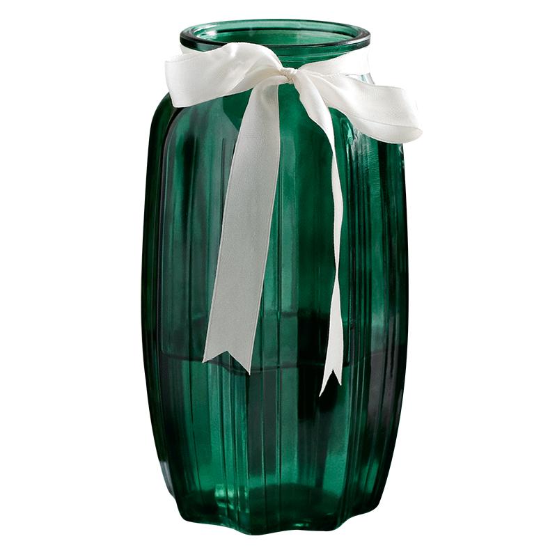 欧式磨砂玻璃花瓶