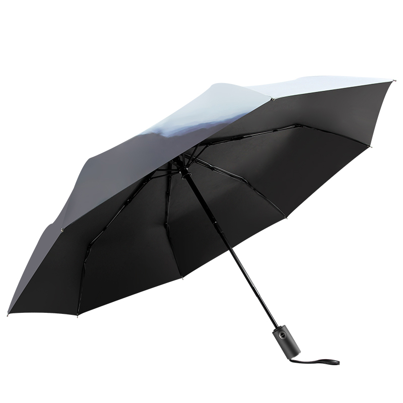 富士山两用晴雨伞