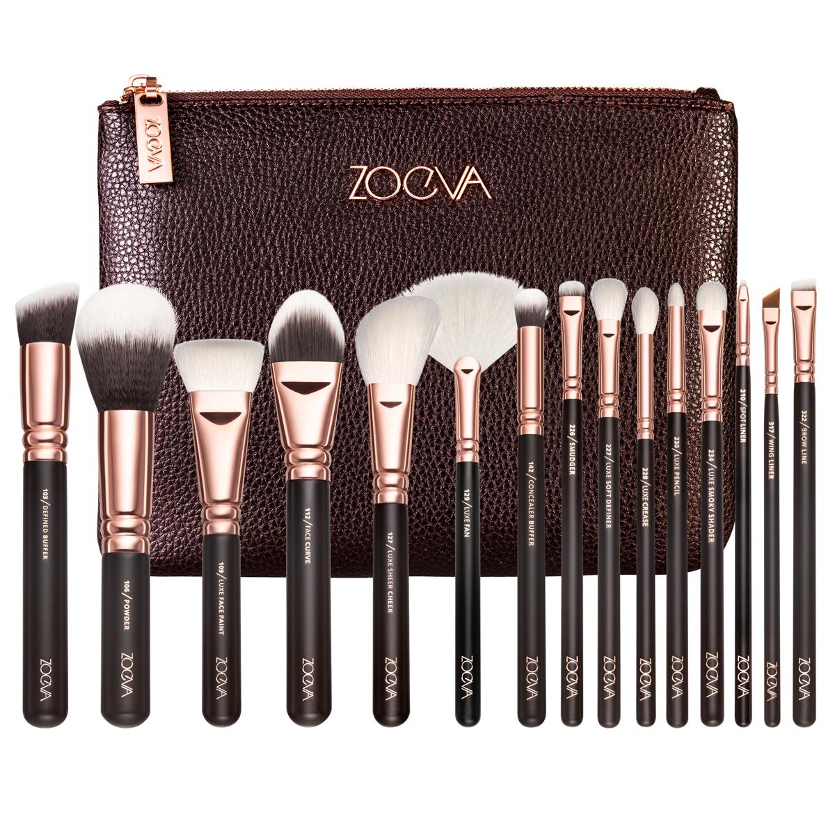 Zoeva 化妆刷套装8支