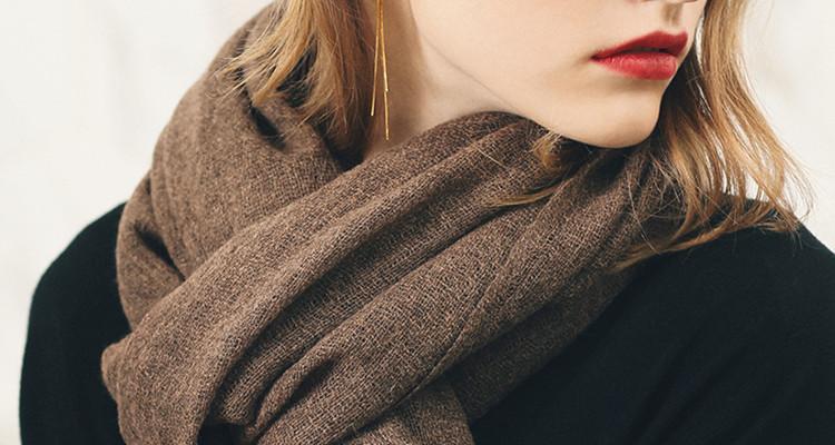 寒冬将至,送暖暖的围巾给TA满满的安全感