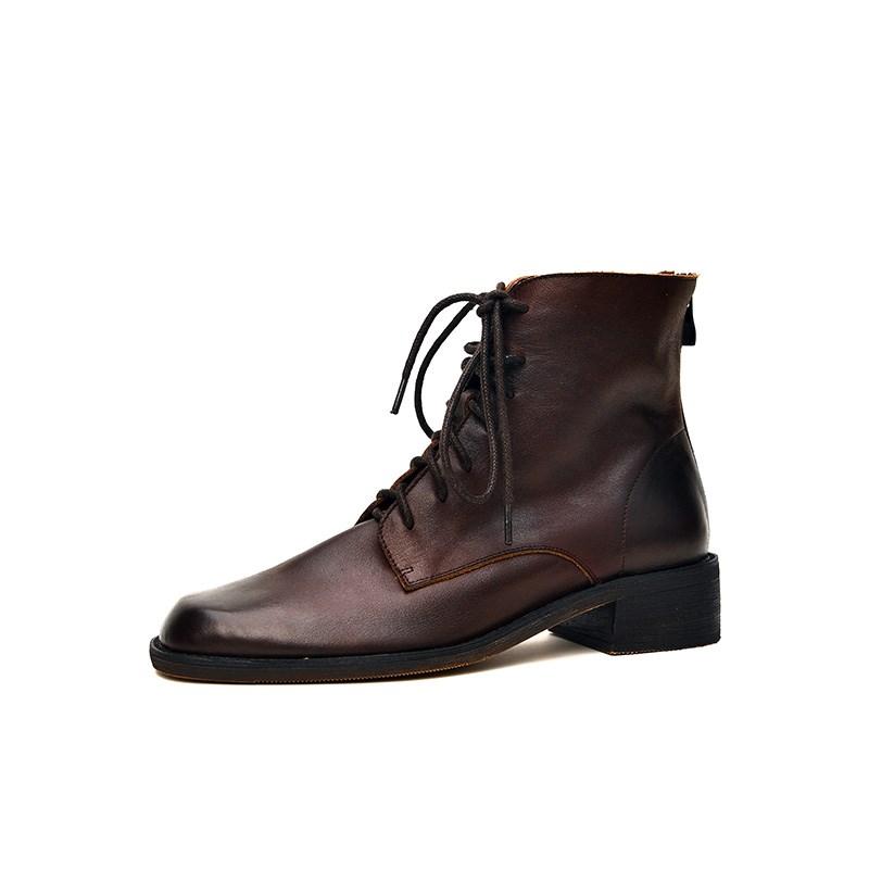 独家天使◆英伦风擦色马丁靴