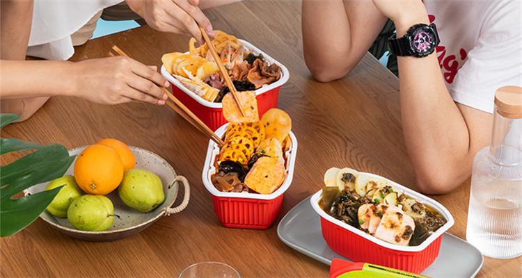 懒人自热火锅丨宅在家就能吃到的幸福味道