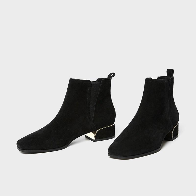 aita◆切尔西牛反绒短靴