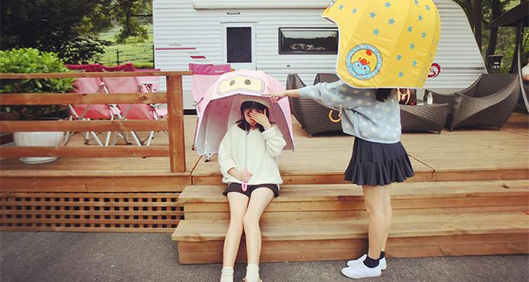 最美的不是下雨天,是与你一同撑伞的人