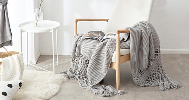 好物推荐丨添一条北欧风盖毯,让家变得更洋气