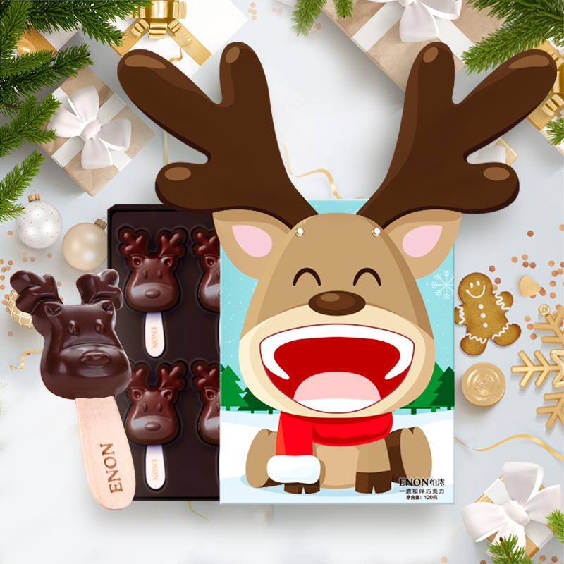 怡浓麋鹿黑巧克力礼盒