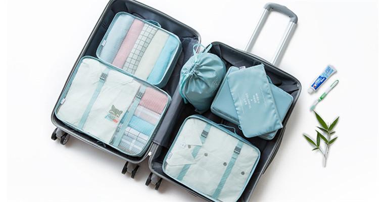 全方位整理の完美行李收纳