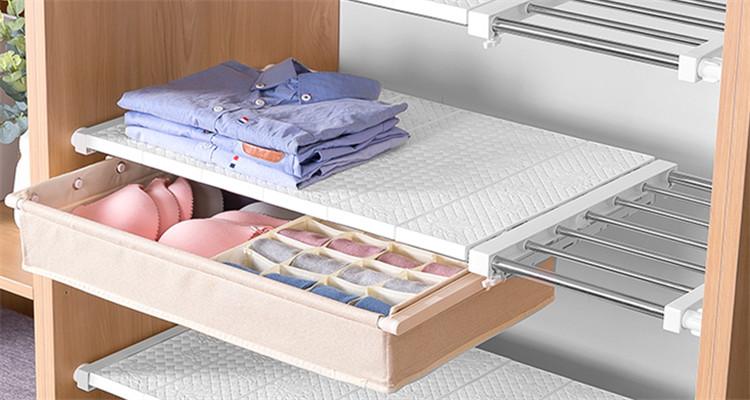 高效率の衣柜收纳大法
