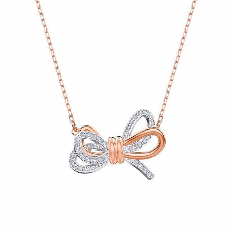 蝴蝶项链,施华洛世奇,独特闪耀只给她