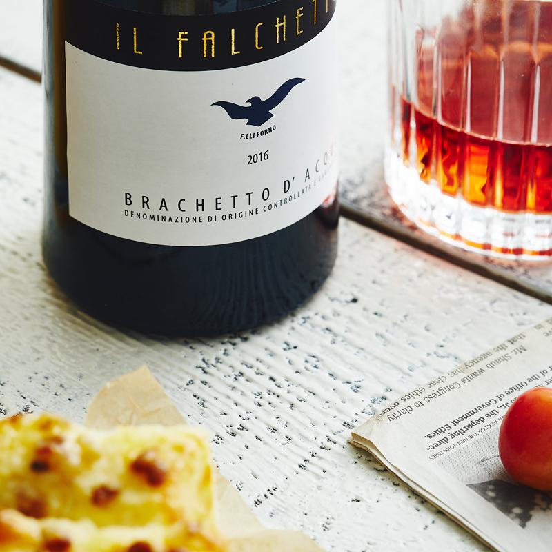 Brachetto D' Acqui 小鹰甜红起泡酒