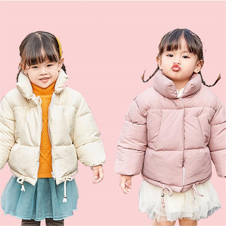 女童短款羽绒棉服