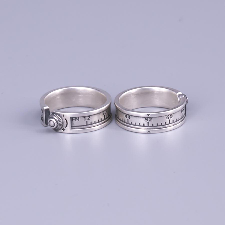 《52赫兹》925纯银情侣戒指