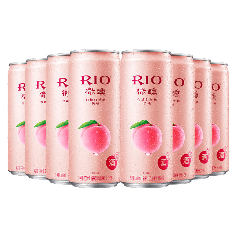 RIO 微醺白桃鸡尾酒