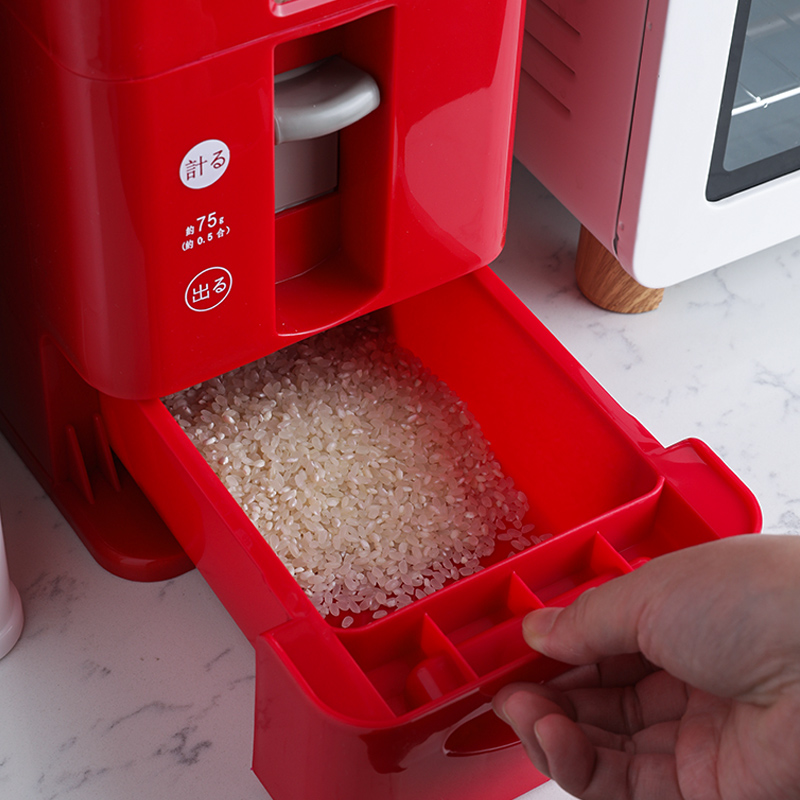 日本自动计量米箱