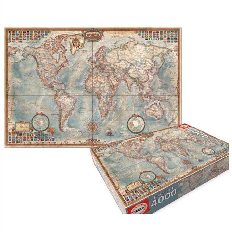 EDUCA 世界地图拼图 4000片
