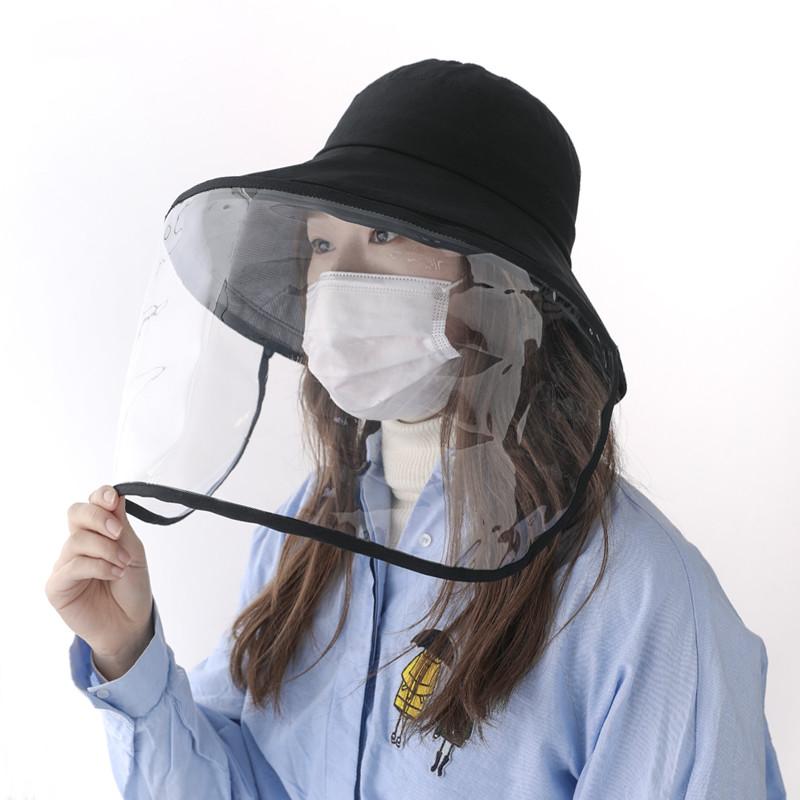 防护面罩渔夫帽