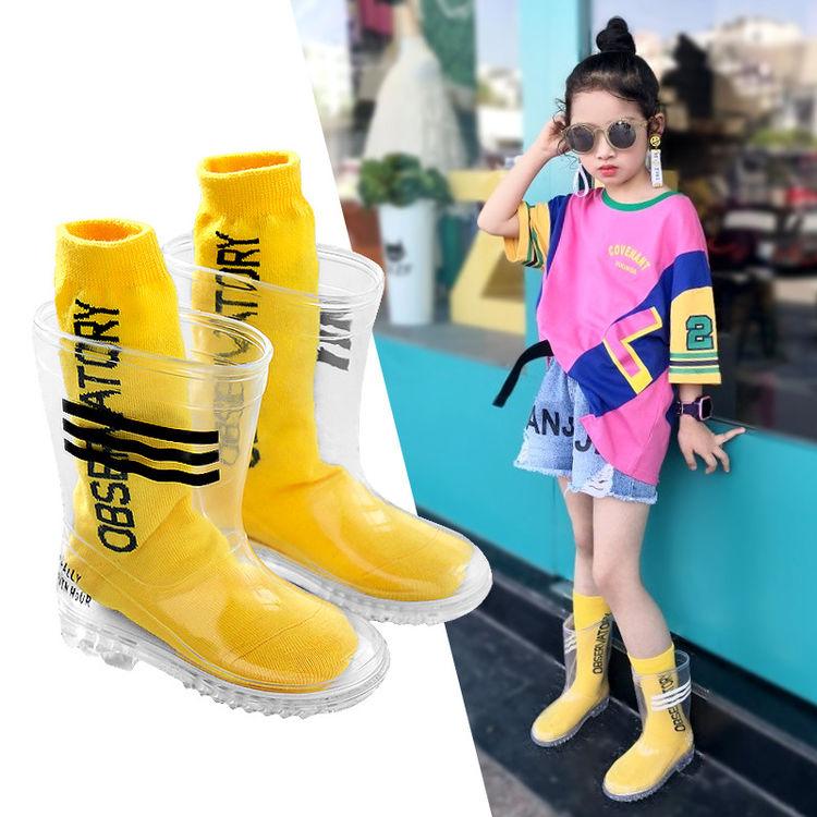 ,下雨天了怎么办?雨靴在脚去哪都不怕